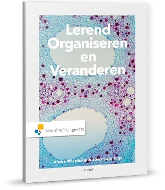 Boek cover Lerend organiseren van Joop Swieringa