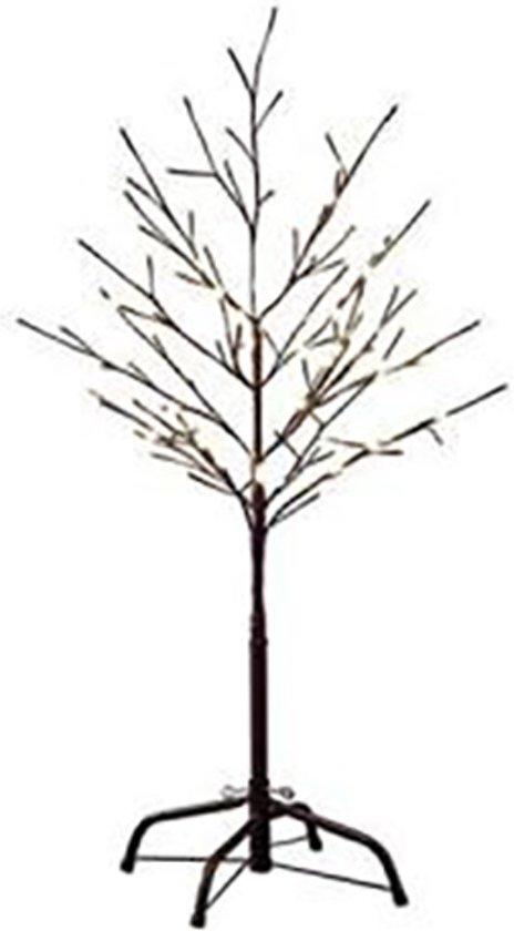 Konstsmide 3377 - Lichttak - 96 lamps LED boom bruin - 100 cm - 24V - voor buiten - warmwit