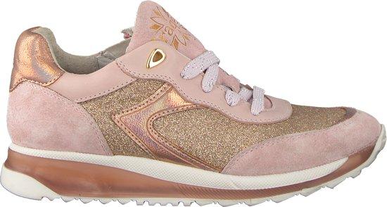 Braqeez Meisjes Sneakers Vicky Viva - Roze - Maat 33
