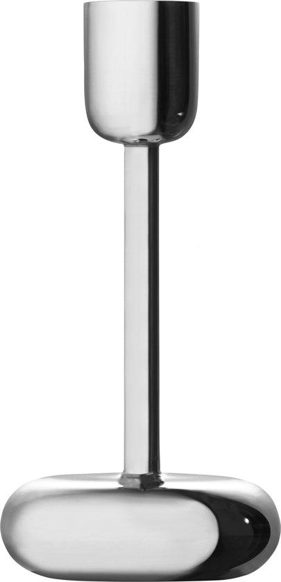 Iittala Nappula kaarsenhouder - 18,3 cm - Zilver