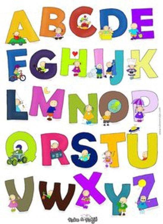 Afbeelding van het spel Rube & Rutje Alfabet Poster