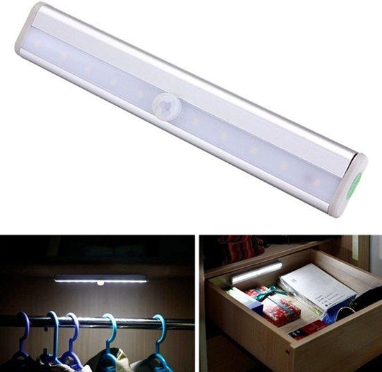 ᐅ • LED Kastverlichting Sensorlamp - Draadloos - Met Automatische ...