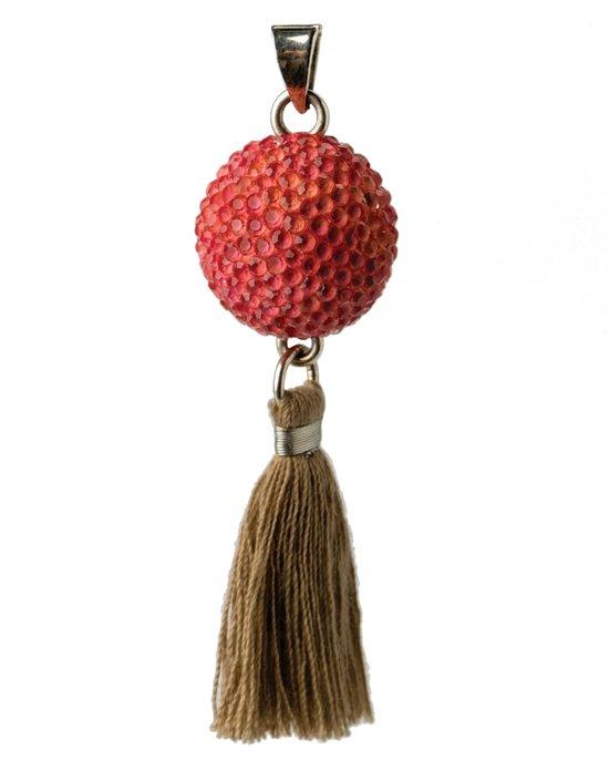 Bola - Babylonia Bola - Roze met kwastje - One size