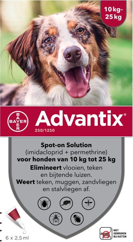 Advantix - Spot on - Voor honden van 10 tot 25 kg