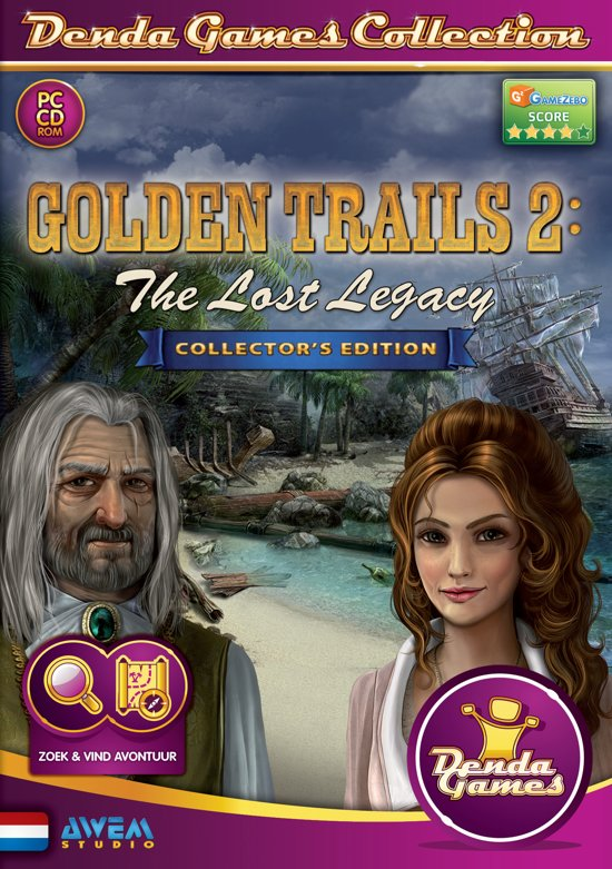 Golden Trails 2: The Lost Legacy - Collector's Edition - Windows