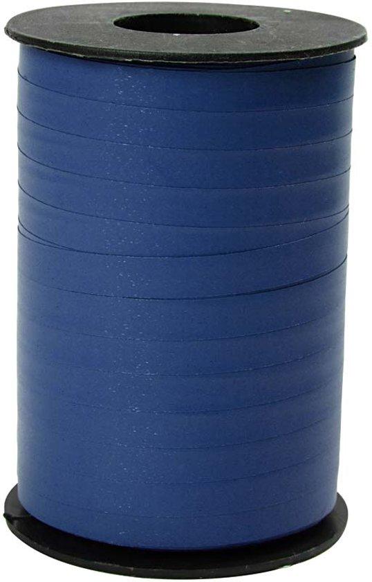 Cadeaulint, b: 10 mm, blauw, mat, 250 m
