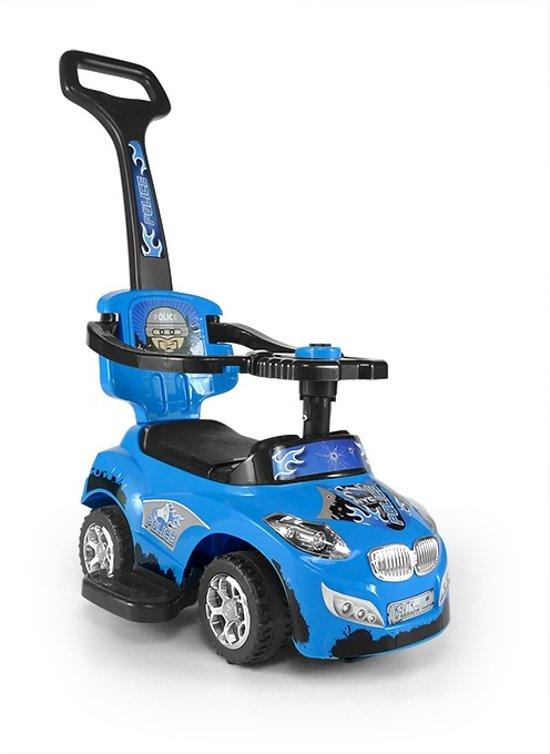 Milly Mally Happy Loopwagen Politieauto Blauw
