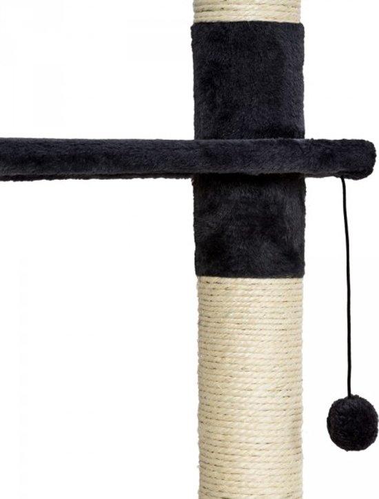 TecTake 401638 Krabpaal - Zwart/wit - 260 cm