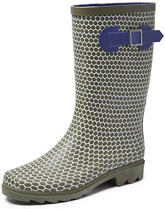 Gevavi Boots Abby Rubber Groen Laarzen Dames