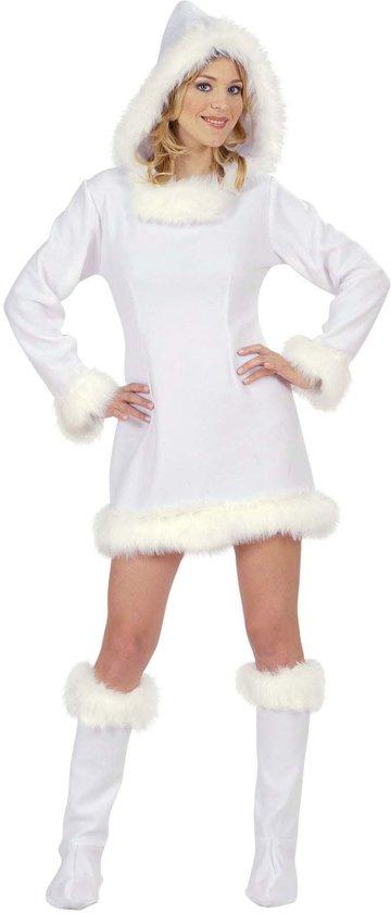 wit dames kostuum