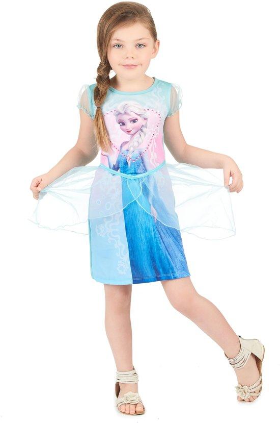 7da4f9af064148 Elsa Frozen™ jurk voor meisjes - Kinderkostuums - 122 128