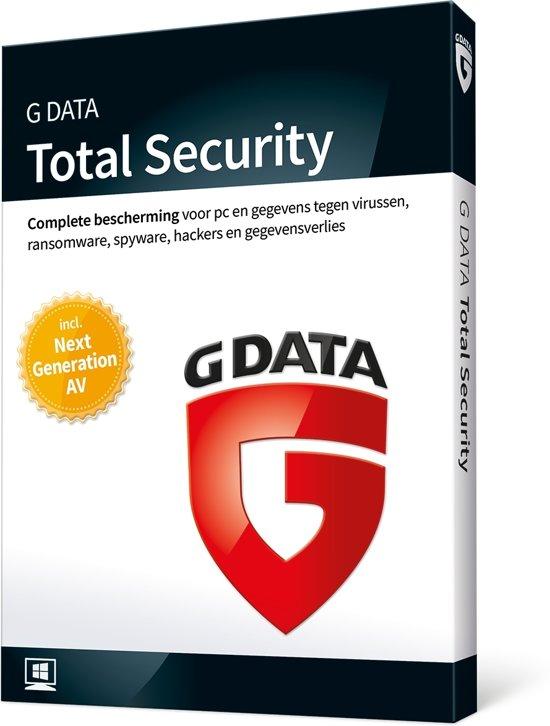 G Data Total Security 2018 - 1 User (Dutch)