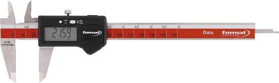 digitale zakschuifmaat met datakabel 150mm FORMAT