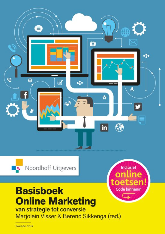 Basisboek online marketing incl. toegang tot Prepzone