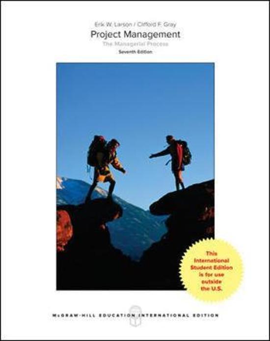 Boek cover Project Management van Erik Larson (Paperback)