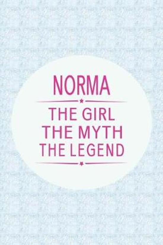 Norma the Girl the Myth the Legend