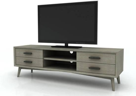 Flatscreen Tv Meubel.Bol Com Seattle Tv Meubel Grijs