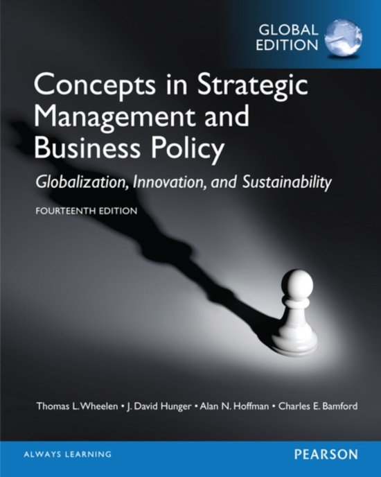 Bol Com Concepts In Strategic Management And Business Policy