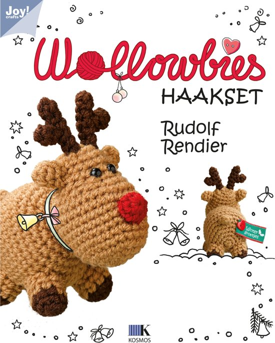 Bolcom Wollowbies Rudolf Rendier 79000006 Joycrafts Speelgoed