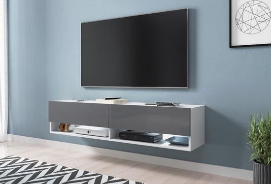 Hangende Tv Kast.Bol Com Tv Meubel Tv Dressoir Wander Hangend 140 Cm Breed Body