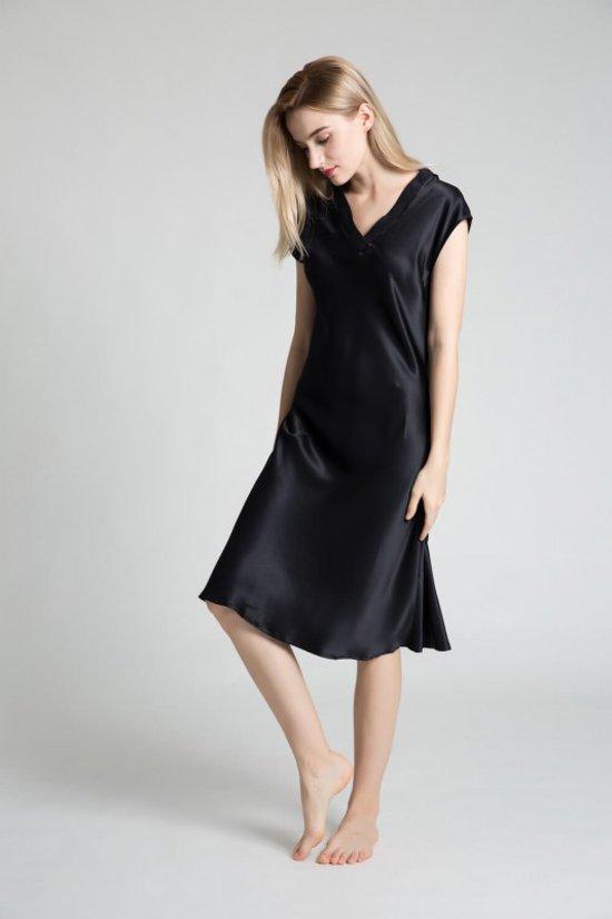 zijden jurk dames