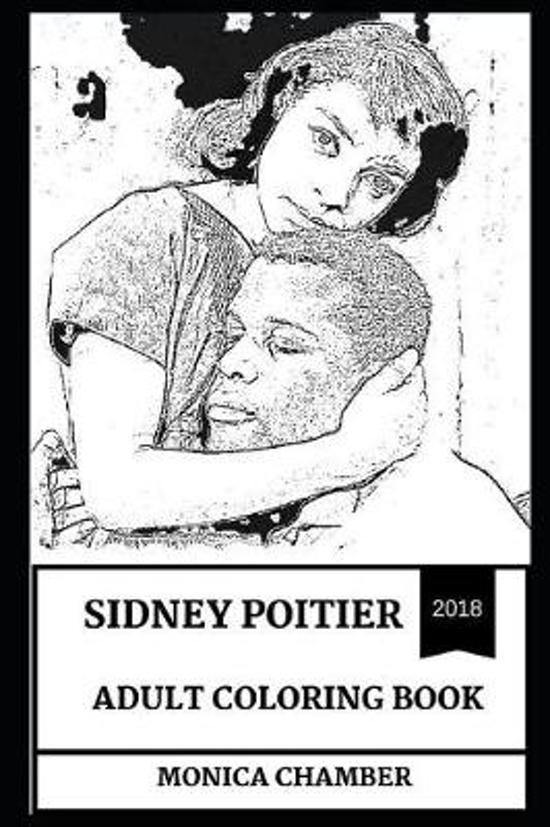 Sidney Poitier Adult Coloring Book