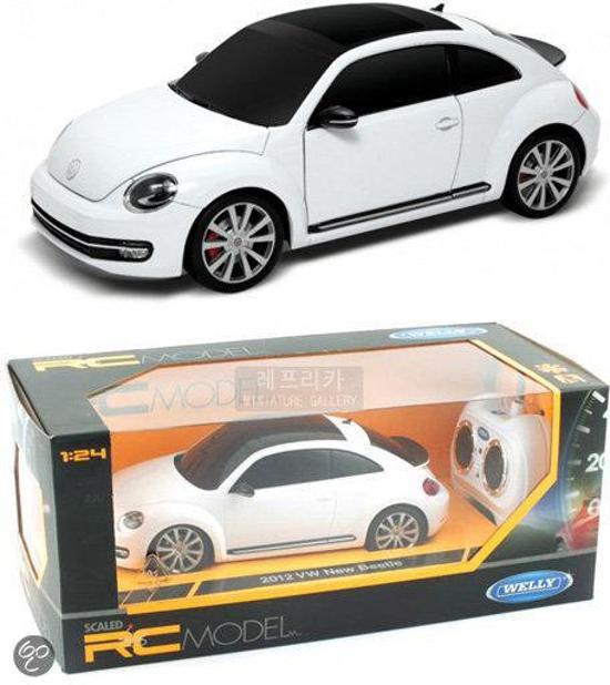 Bol Com Afstandbestuurbare Auto Volkswagen New Beetle 1 24 Welly
