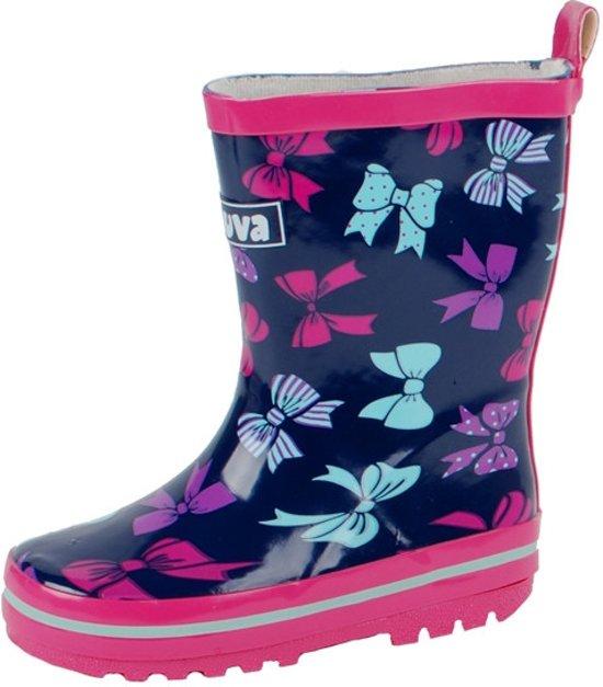 Gevavi Boots Sita meisjeslaars rubber blauw/roze 27