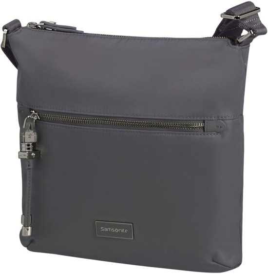8e9742c0ba6 bol.com | Samsonite Crossbodytas - Karissa Crossover M Grey Blue