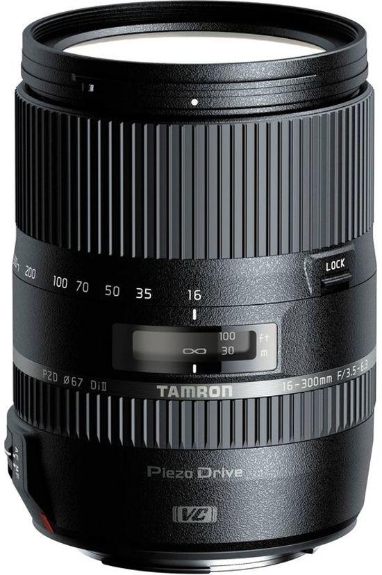Tamron 16-300mm F3,5-6,3 Di II VC PZD Macro - Telezoomlens - Geschikt voor Canon