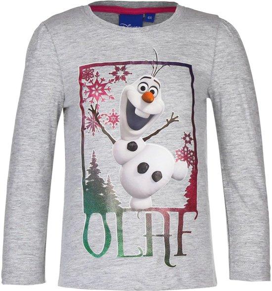 Frozen Kersttrui.Bol Com Frozen Olaf Grijs Longsleeve