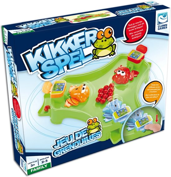 Clown Games Kikkerspel Groen