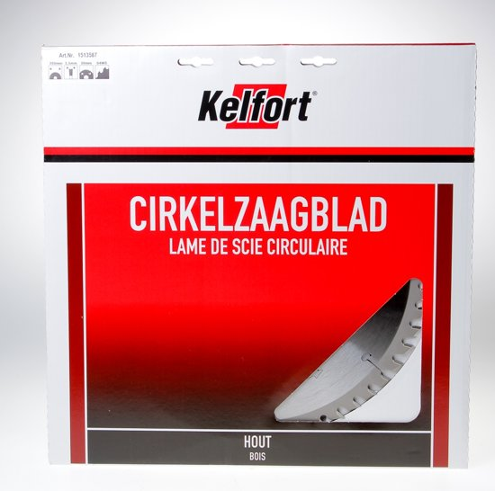 Kelfort Cirkelzaagblad hardmetaal 54 tanden WS-UW diameter 350 x 3.5 x 30mm
