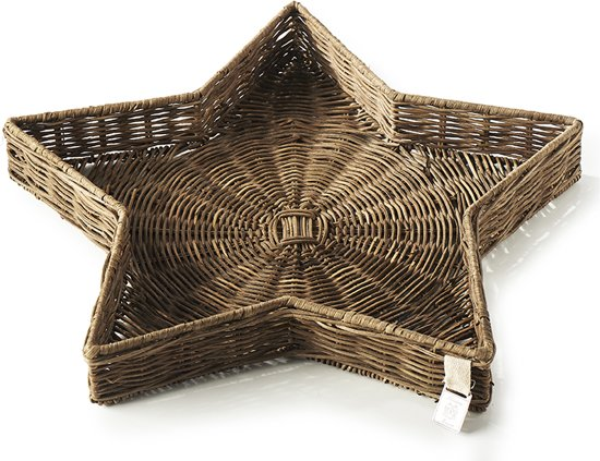 Riviera Maison - RR Winter Star Tray - L - Dienblad