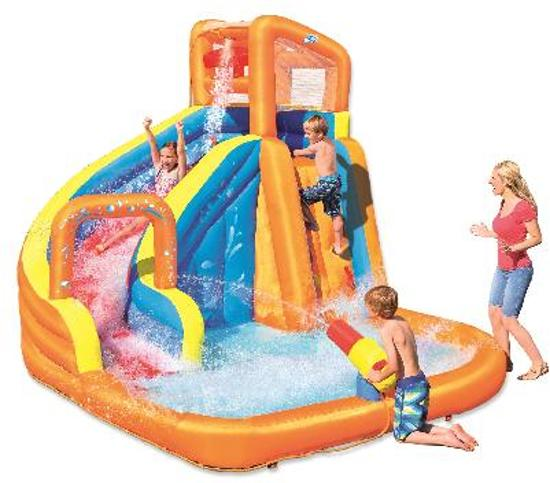 Bestway H2OGO! waterpark turbo splash water zone glijbaan