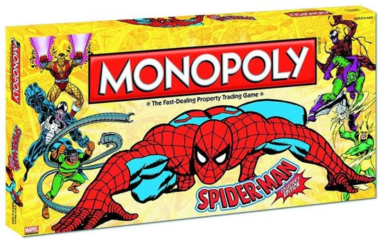 Afbeelding van het spel Monopoly Spider-Man Collector's Edition