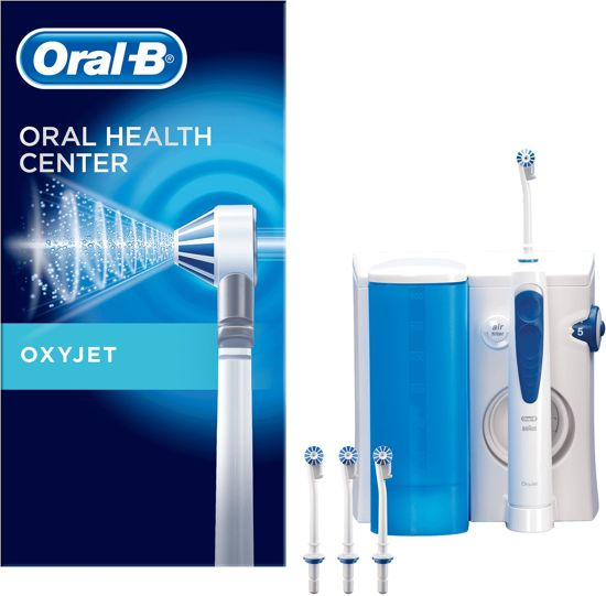 oral b oxyjet floss monddouche. Black Bedroom Furniture Sets. Home Design Ideas