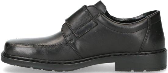 Rieker heren klittenbandschoen Zwart Maat 40