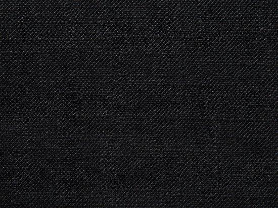 Beliani 2-Zits bank gestoffeerd zwart KUOPIO