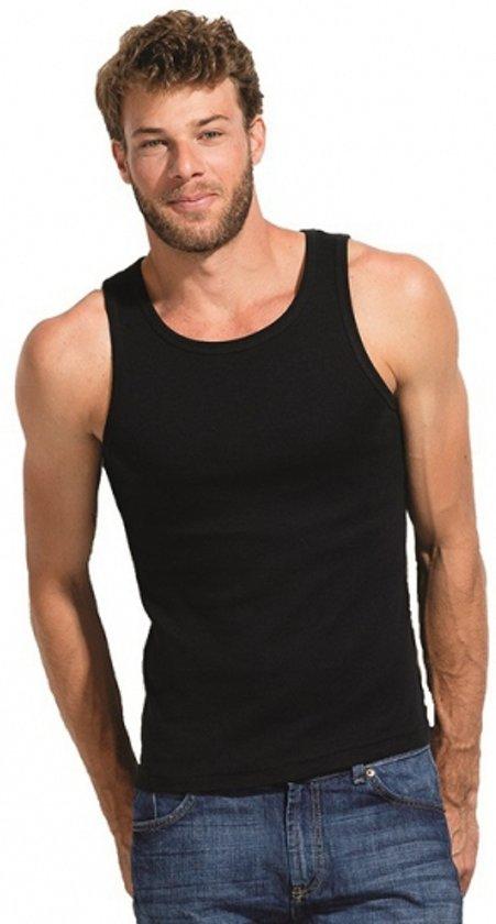 d5f6bbd0 bol.com   Zwart Mojito heren t-shirt zonder mouwen L