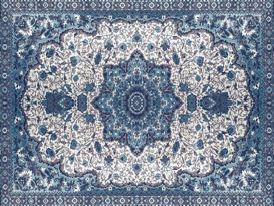 Perzisch Tapijt Blauw : Bol.com vinyl vloerkleed persia perzisch tapijt blauw