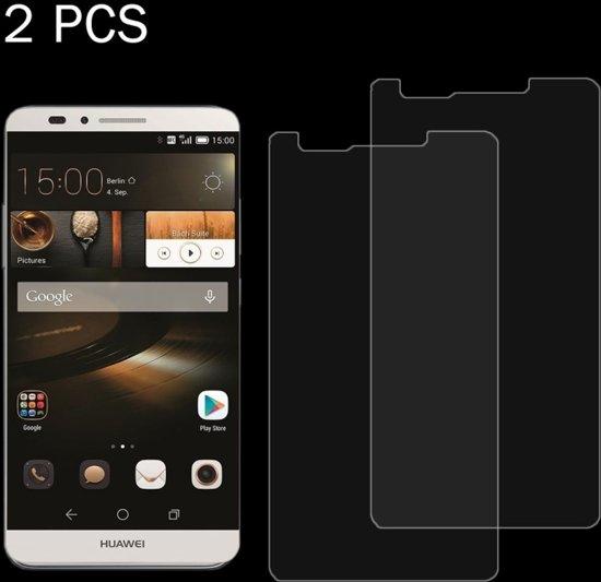 Let op type!! 2 PC's Huawei Mate 7 mini 0 26 mm 9H oppervlakte hardheid 2.5D explosieveilige getemperd glas scherm Film