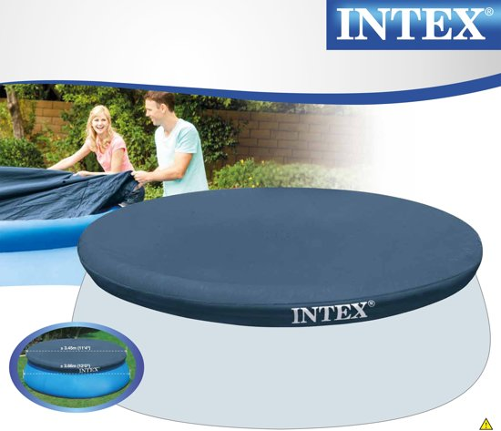 Intex Easy Set Zwembad Afdekzeil 366 cm