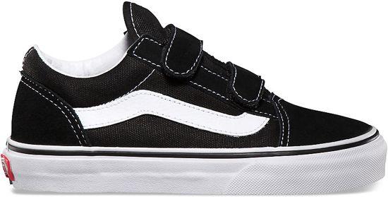 8fb463c776e Vans Meisjes Sneakers Uy Old Skool Black/true White - Zwart - Maat 35