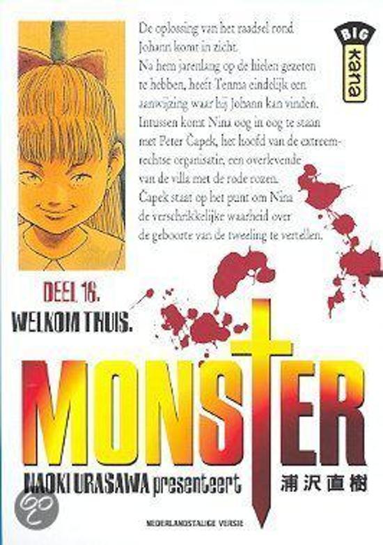 Monster 16. deel 16 - Naoki Urasawa  