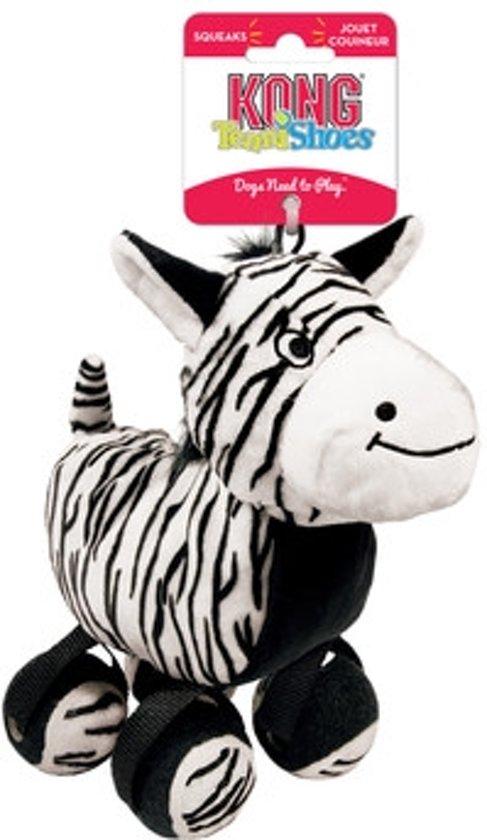 Kong Tennishoes Zebra - LARGE 9.5X23X21.5 CM