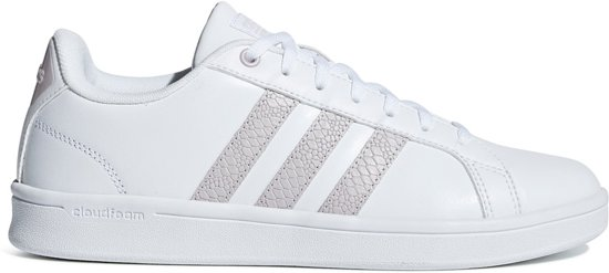 adidas CloudFoam Advantage Sneakers - Schoenen - wit - 40
