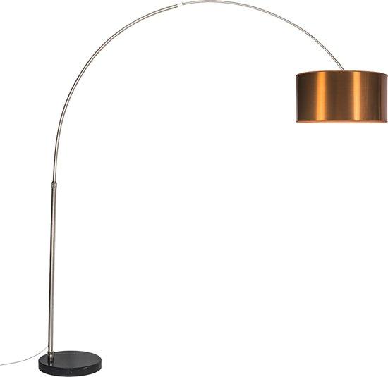 Ongekend bol.com | QAZQA Booglamp XXL - Staande booglamp - 1 lichts - H UG-88