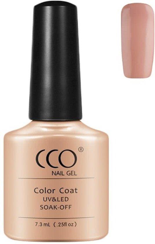 CCO Shellac-Bare Chemise-Nude-Gel Nagellak