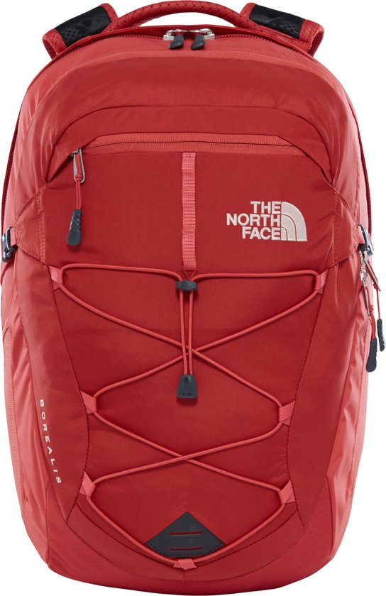 The North Face Women's Borealis Rugzak - Dames - Sunbaked Red/Bossa Nova Red